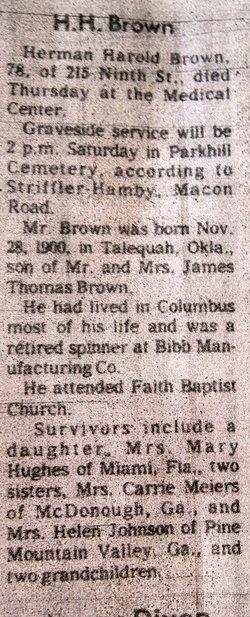 Herman Harold Brown