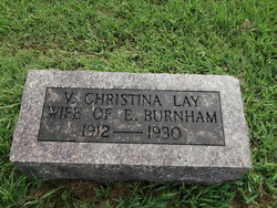 Versa Christina <i>Lay</i> Burnham