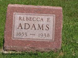 Rebecca Frances <i>Keithley</i> Adams
