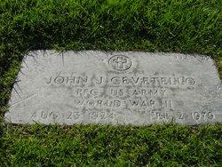 John J Cevetello