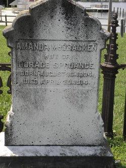 Amanda <i>McCracken</i> Spruance