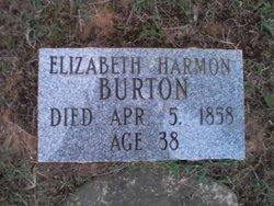 Elizabeth <i>Harmon</i> Burton
