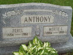 Mertie L <i>McMillen</i> Anthony