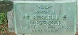 Lieut Russell H. Clevenger
