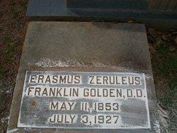 Dr Erasmus Zeruleus E.Z.F. <i>Franklin</i> Golden, Sr