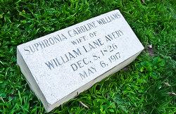 Sophronia Caroline <i>Williams</i> Avery
