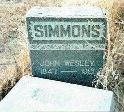 John Wesley Simmons