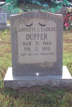 Annette G. <i>Eadens</i> Duffer