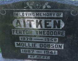 Mollie <i>Dobson</i> Aitken
