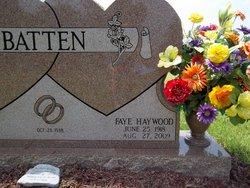 Faye <i>Haywood</i> Batten