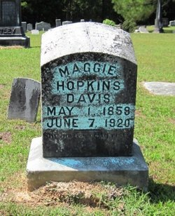 Maggie <i>Hopkins</i> Davis