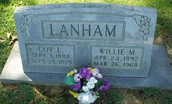 Willie Myrtle <i>Martin</i> Lanham
