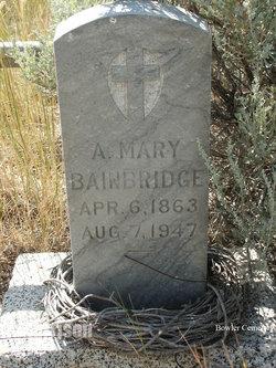 A. Mary Bainbridge
