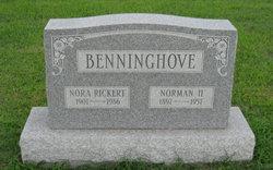 Nora Ethel <i>Rickert</i> Benninghove