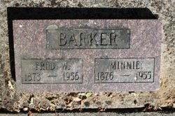 Minerva Minnie <i>Barker</i> Barker