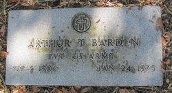 Arthur T Barden