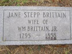 Jane Catherine <i>Stepp</i> Brittain
