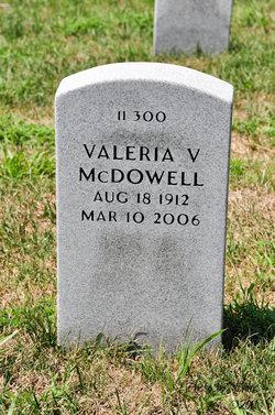 Valeria V Mcdowell