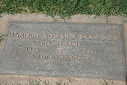 Harold Edward Yarwood