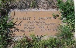 Ernest S Baldwin