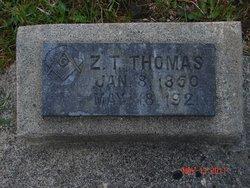 Z T Thomas