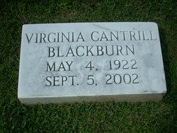 Virginia <i>Cantrill</i> Blackburn