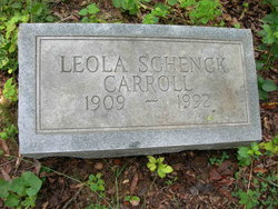Leola Furness <i>Schenck</i> Carroll