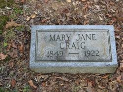 Mary Jane Craig