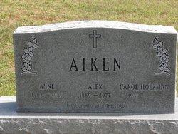 Annie Angeline <i>Shogay</i> Aiken