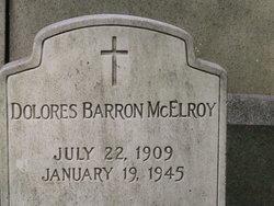 Dolores <i>Barron</i> McElroy