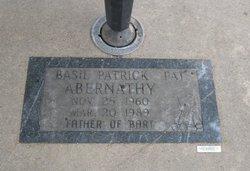 Basil Patrick Pat Abernathy