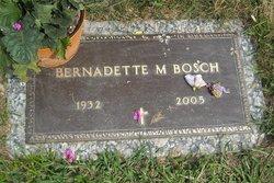 Bernadette M <i>Hoffmann</i> Bosch