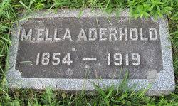 M Ella Aderhold