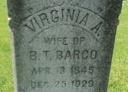 Virginia Anne <i>Williams</i> Barco