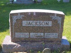 Ernest D Jackson
