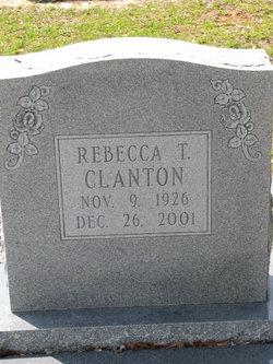 Rebecca <i>Tucker</i> Clanton