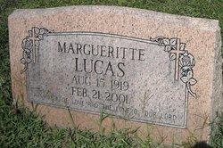 Margueritte <i>Moore</i> Lucas