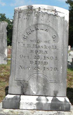 Hannah G Haskell