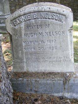 Fannie B Nelson