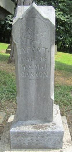 Infant Daughter Cannon