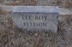 Lee Roy Ellison