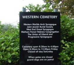 Western Synagogue Cemetery
