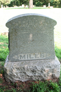 Dicy Ann <i>Standley</i> Miles