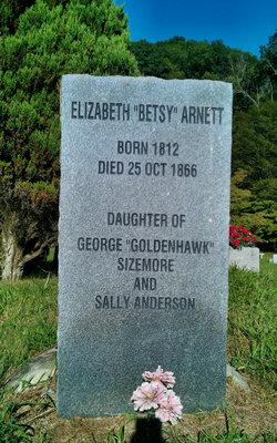 Elizabeth Betsy <i>Sizemore</i> Arnett
