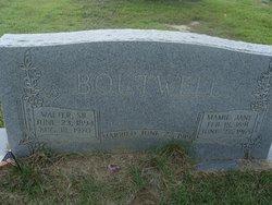 Mamie Jane <i>Williams</i> Boutwell
