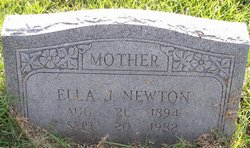 Ella Josephine <i>Sharp</i> Newton