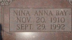 Nina Anna <i>Pease</i> Bay