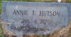 Annie L. <i>Tindall</i> Hutson