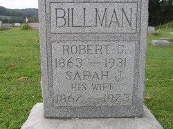 Sarah Jane <i>Burrell</i> Billman