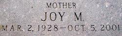 Joy M Hooker